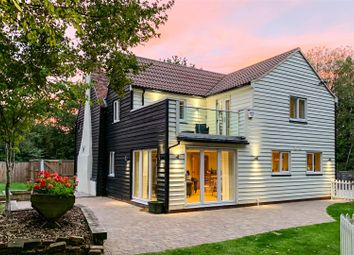 Thumbnail 4 bed detached house for sale in Willow Cottages, Lodge Road, Bicknacre, Chelmsford