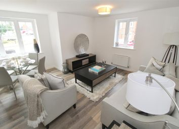 Thumbnail 2 bed flat for sale in Lundy Walk, Bletchley, Milton Keynes