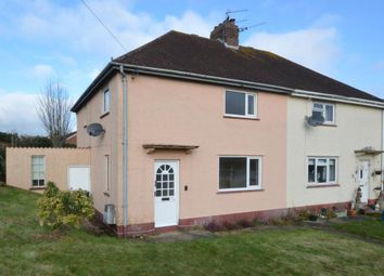 Thumbnail 3 bed semi-detached house to rent in School Lane, Newton Poppleford, Sidmouth, Devon