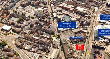 Thumbnail Land for sale in Development Site, Ferensway East, Hull