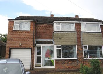 Thumbnail 5 bed semi-detached house for sale in Tilmire Close, York