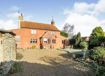 Thumbnail 2 bed detached house for sale in The Street, Knapton, North Walsham