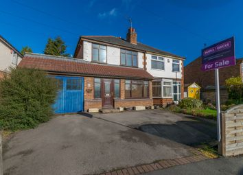 Thumbnail 3 bed semi-detached house for sale in Little Glen Road, Leicester