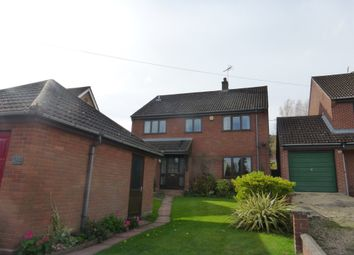 Thumbnail 4 bed detached house for sale in West End, Costessey, Norwich