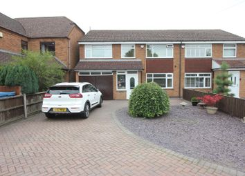Thumbnail 4 bed semi-detached house for sale in Nutts Lane, Hinckley