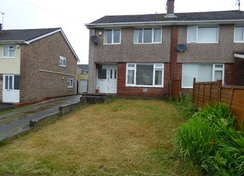 Thumbnail 3 bed semi-detached house for sale in Westminster Way, Bridgend