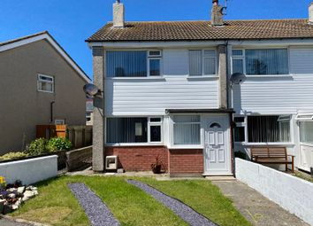 Thumbnail 3 bed end terrace house for sale in Llain Delyn, Holyhead