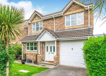 Thumbnail 4 bedroom detached house for sale in Llandinam Crescent, Gabalfa, Cardiff
