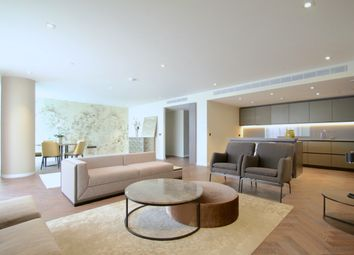 Thumbnail 3 bed flat to rent in Circus Road, Bessborough House, Battersea, London