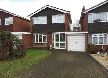 Thumbnail 3 bed link-detached house for sale in Edgar Close, Tamworth