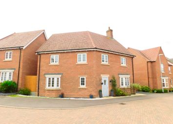 Thumbnail 4 bed detached house for sale in Ploughed Way, Kibworth Harcourt, Leicester