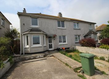 Thumbnail 3 bed semi-detached house for sale in Treveneth Crescent, Newlyn, Penzance
