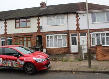Thumbnail 3 bed terraced house to rent in Swainson Road, Northfields, Leicester