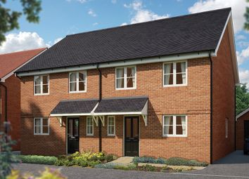 "Thumbnail 4 bed semi-detached house for sale in ""The Salisbury"" at Seldens Mews, Seldens Way, Worthing"