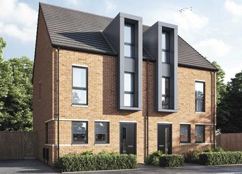 """Thumbnail 3 bed semi-detached house for sale in """"The Mcadam"""" at Brunel Street, Bensham, Gateshead"""