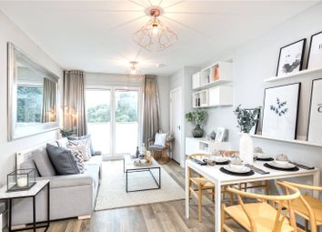 Thumbnail 2 bed flat for sale in Jubilee Meadows, Hersham Road