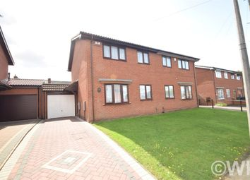 Thumbnail 3 bedroom semi-detached house for sale in James Eaton Close, West Bromwich, West Midlands