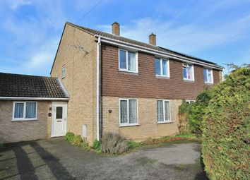 Thumbnail 3 bed semi-detached house for sale in Glover Street, Over, Cambridge