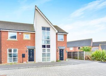 Thumbnail 3 bed end terrace house for sale in Somerset Walk, Broughton, Milton Keynes, Buckinghamshire