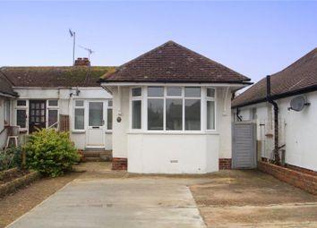 Thumbnail 2 bed semi-detached bungalow for sale in Bristol Avenue, Lancing, West Sussex