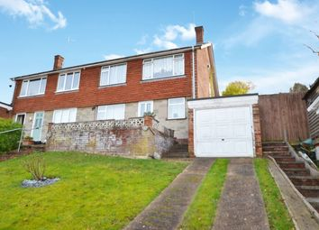 Thumbnail 3 bed semi-detached house for sale in Sundridge Drive, Walderslade, Chatham