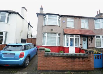 Thumbnail 3 bed semi-detached house for sale in Dulas Road, Wavertree, Liverpool