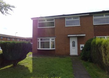 Thumbnail 3 bed end terrace house to rent in Capesthorne Walk, Denton, Manchester