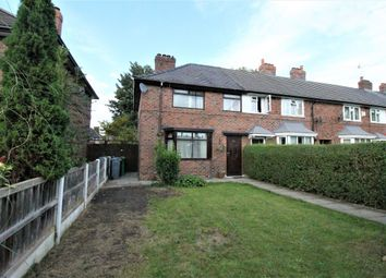 Thumbnail 3 bed end terrace house for sale in Woodbridge Grove, Wythenshawe, Manchester