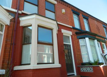 Thumbnail 2 bed terraced house to rent in Berrington Avenue, Woolton, Liverpool