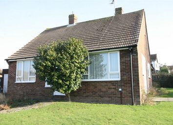 Thumbnail 2 bed detached bungalow for sale in Hunting Close, Bexhill-On-Sea