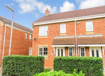 Thumbnail 3 bed semi-detached house for sale in Brunel Drive, Biggleswade, Bedfordshire-