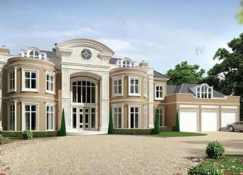 Thumbnail 5 bedroom detached house for sale in South Road, St. Georges Hill, Weybridge, Surrey