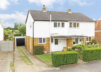Thumbnail 2 bedroom semi-detached house for sale in Barnfield Road, St Albans, Hertfordshire