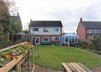 Thumbnail 4 bed detached house for sale in Burrough End, Great Dalby