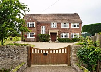 Thumbnail 4 bed detached house for sale in Causeway End, Brinkworth