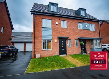 Thumbnail 4 bed semi-detached house to rent in Thursfield Road, Tipton