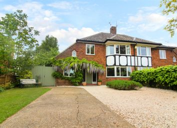 Thumbnail 4 bed semi-detached house for sale in Keswick Close, Cringleford, Norwich