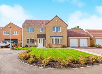 Thumbnail 4 bed detached house for sale in Lakeside Gardens, Coates, Peterborough