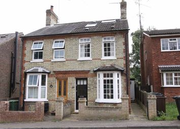 Thumbnail 3 bed semi-detached house for sale in Necton Road, Wheathampstead, Hertfordshire