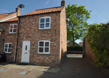 Thumbnail 2 bed terraced house to rent in High Street, Snaith, Goole