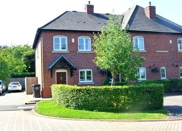 Thumbnail 2 bed semi-detached house for sale in Wayfarers Court, Pickmere, Knutsford