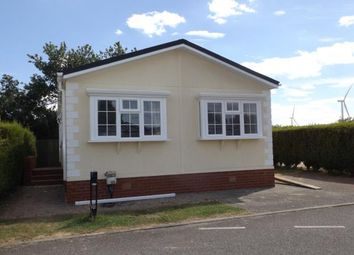 Thumbnail 3 bed mobile/park home for sale in Eye Road, Eye, Suffolk