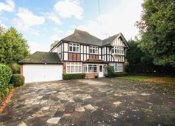 Thumbnail 5 bed detached house for sale in Verulam Avenue, Woodcote Park Estate, Purley, Surrey