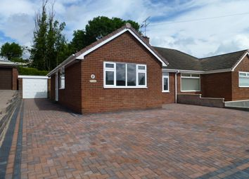 Thumbnail 3 bed bungalow to rent in Combe Drive, Meir Heath