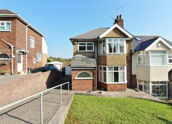 Thumbnail 3 bed semi-detached house for sale in Cae Perllan Road, Newport