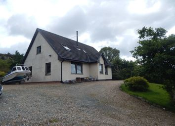 Thumbnail 4 bed detached house for sale in Achachork, Portree, Isle Of Skye