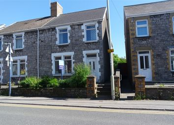 Thumbnail 3 bed semi-detached house to rent in Ffald Road, Pyle, Bridgend, Mid Glamorgan