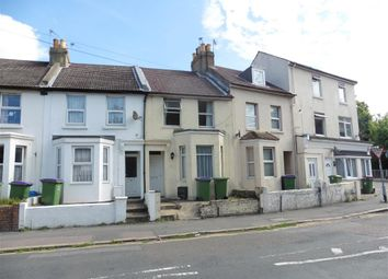 Thumbnail 2 bed terraced house for sale in Canterbury Road, Folkestone, Kent
