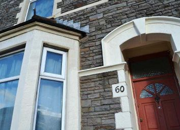 Thumbnail 5 bed terraced house to rent in North Road, Cardiff