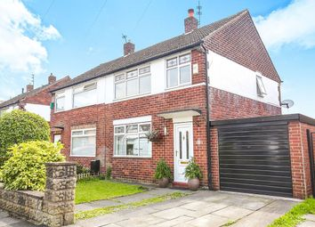 Thumbnail 3 bed semi-detached house for sale in Torbay Drive, Offerton, Stockport